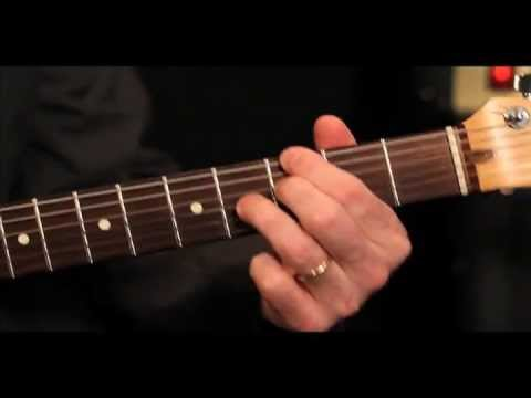 Jazz Blues Guitar Lesson (early intermediate) from