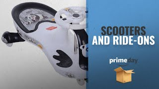 Scooters And Ride-ons Prime Day Deals: Toyzone Baby Panda Free Wheel Magic Car, Colors may Vary