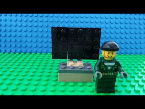 How to make a lego tv easy