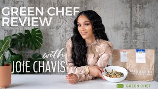 Green Chef Review   with Joie Chavis