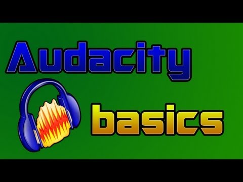 Get a professional sounding voice with audacity | audacity basics