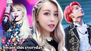 I Got A K-Pop MAKEOVER *BTS Was There Before* Meeting Chung-Ha, Chainsmokers & BVNDIT!