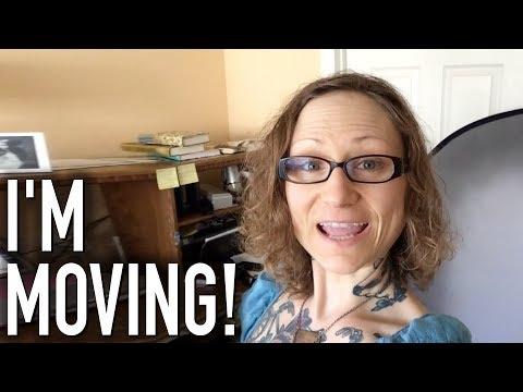 I'm Moving + My Filming Setup & Indoor Bike Desk