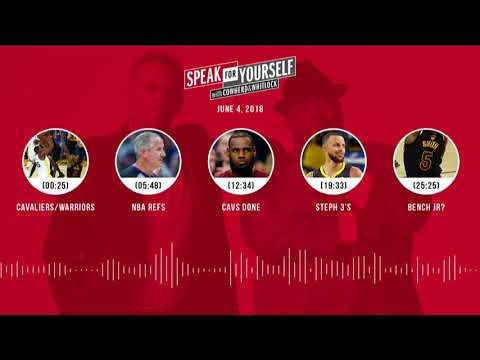 SPEAK FOR YOURSELF Audio Podcast (6.4.18) with Colin Cowherd, Jason Whitlock | SPEAK FOR YOURSELF