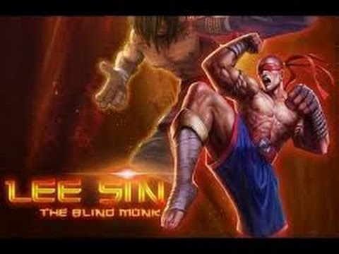 Lee Sin Steals candy from babies