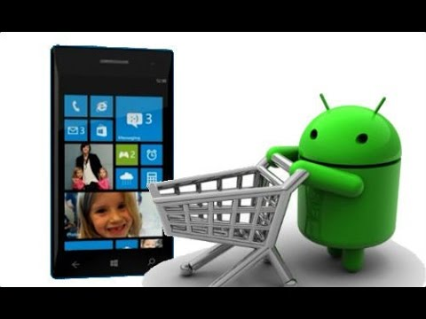 How to install android apps in windows phone