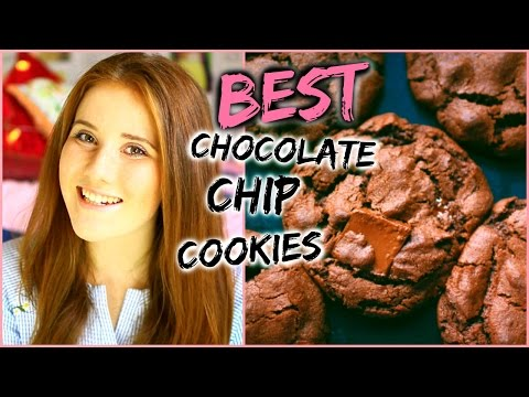 Baking THE BEST Double Chocolate Chip Cookies | BeautyByKat08
