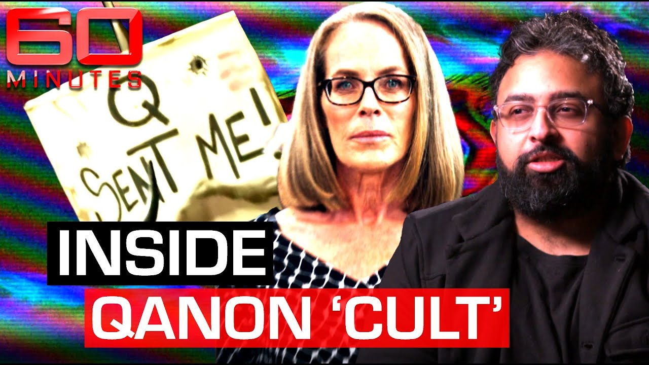 The dangerous Qanon cult tearing families apart with conspiracies | 60 Minutes Australia