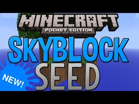 SkyBlock Seed - Minecraft Pocket Edition