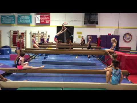 Gymscool Tool: How the Coral Girls make balance beam exciting...