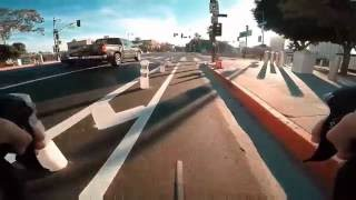 Cycling Los Angeles: A First Look at the Downtown Protected Bike Lanes