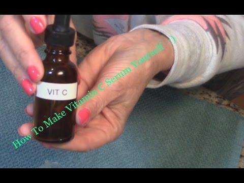 How To Make Vitamin C Serum 🎀