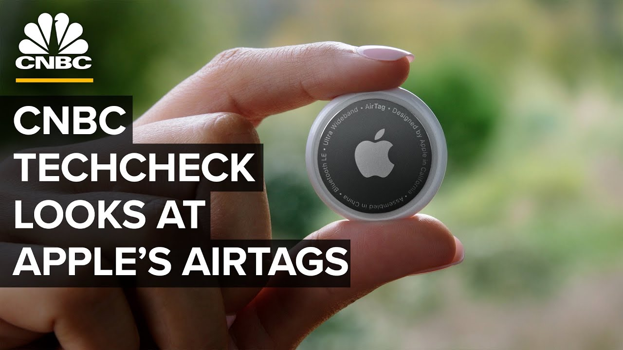 CNBC TechCheck Extra: A closer look at Apple's new AirTags  — 4/22/21