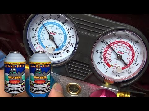 How Well Does Maxi-Frig (R12 Alternative) Refrigerant Work?