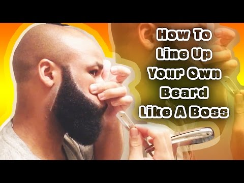How To Line Up Your Own Beard Like A Boss | BRDGNG