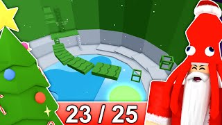 [23/25] CHRISTMAS STAGES in Tower of Hell... | Roblox