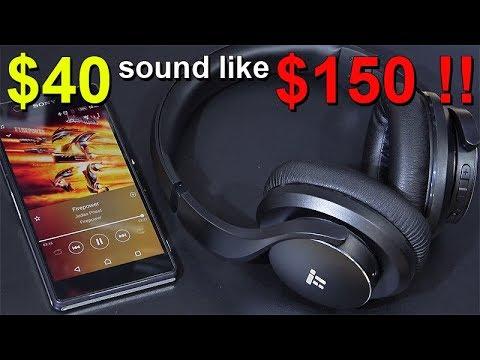 $40 Sound Like $150 Headphones!! -- TaoTronics TT-BH21