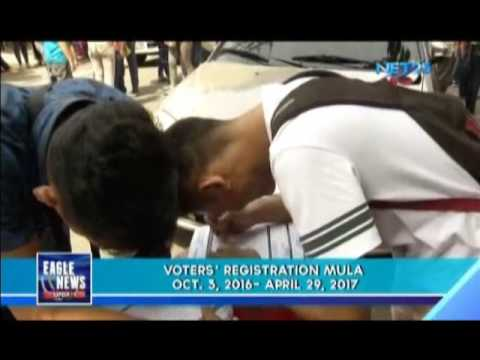 COMELEC to reopen voters' registration on October 3