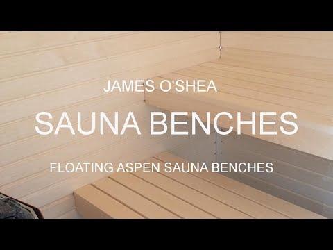 Making Aspen Sauna Benches