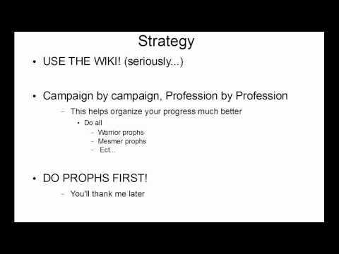 Guild Wars Guide to Elite Skill Hunter Title Track (HD)