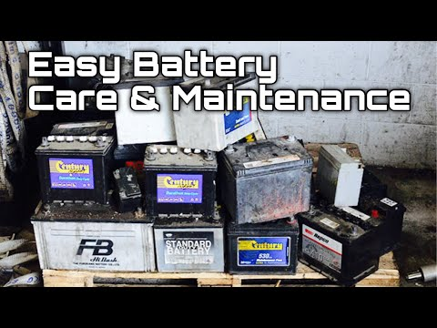 Car Battery Care and Maintenance - Tips and Tricks - Bundys Garage