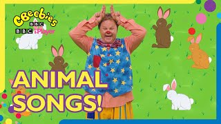 Animal Nursery Rhymes and Songs for Children Compilation | Mr Tumble and Friends | CBeebies
