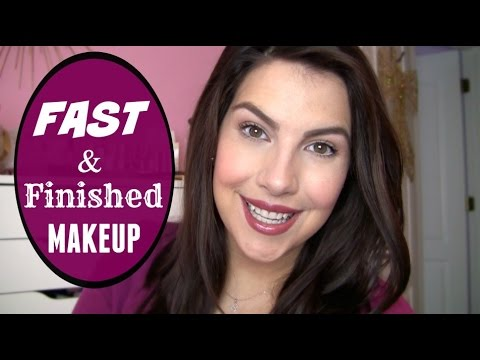 My Fast & Finished Makeup Routine!