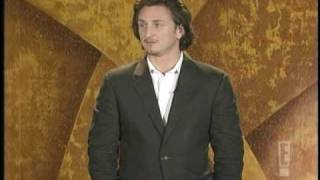 Sean Penn Presenting Award to Clint Eastwood at the Critics