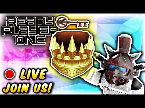 🔴 Roblox: GOLDEN DOMINUS EVENT! 🔴 NEW CLUE! COPPER CROWN OF GOLD AND KEY (Ready Player Number One)