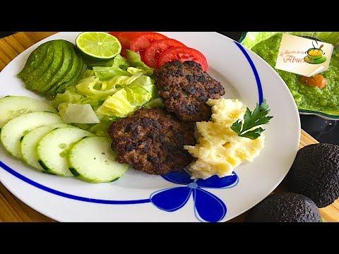 Beef burger patties Delicious recipe