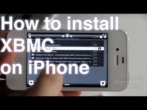 How to Install XBMC on iPhone, iPad, and iPod touch