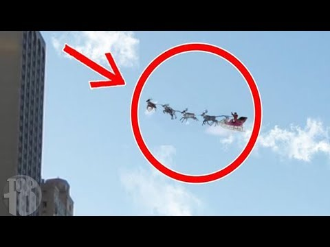 10 Times Santa Claus Was Caught On Camera