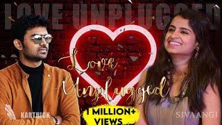 Nee partha vizhigal Cover by Super Singer #Sivaangi ft. #KarthikDevaraj LOVE UNPLUGGED Season -1