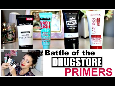 Battle of the Best DRUGSTORE PRIMERS | 2015