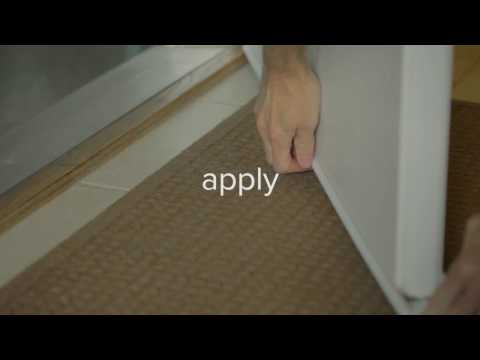 How to install Climaloc door bottom
