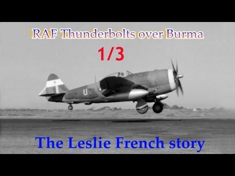 CRHnews - 1/3  RAF Thunderbolts over Jap-occupied Burma