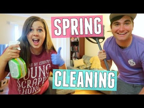 Cleaning Our Whole Apartment!! Spring Cleaning 2018!