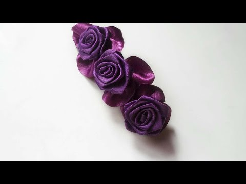 How To Make An Elegant Flower Hair Clip - DIY Style Tutorial - Guidecentral