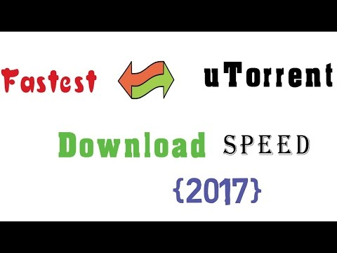 How to Increase utorrent Download speed up to 5.0Mbps
