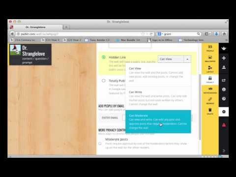 How To Create a Padlet Wall