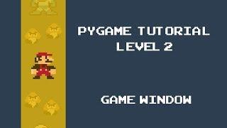 Game Development in Python 3 With PyGame - 10 - Start Menu