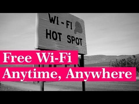 Free Wi-Fi Anytime, Anywhere