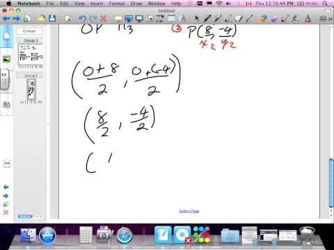 Centriod of a Triangle Grade 10 Academic Lesson 3 2