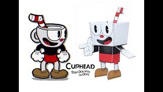 Cuphead Characters as PaperCrafts !