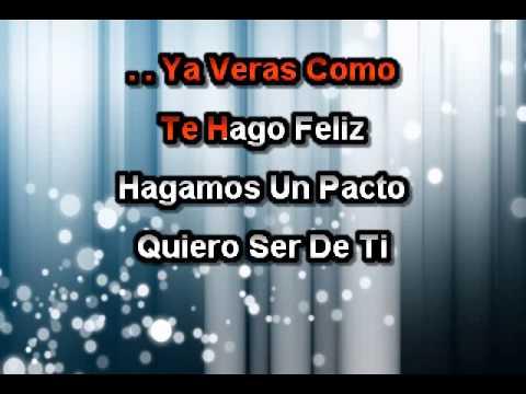 No Pensaba Enamorarme  Roberto Tapia - Karaoke