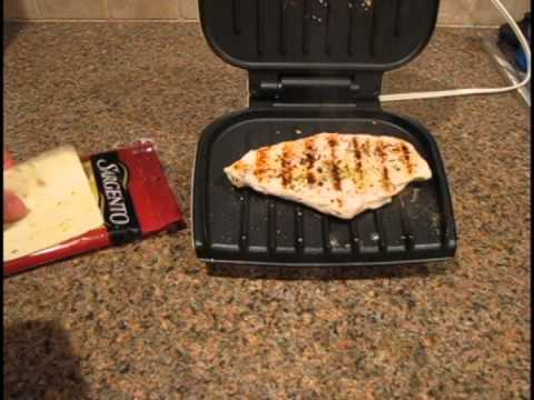 Super fast and easy grilled chicken sandwhich