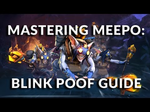 Mastering Meepo: Blink Poof Guide | How To Play Meepo Dota 2 | PVGNA.com