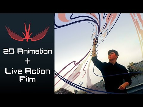 How To Merge 2D Animation With Live Action Film