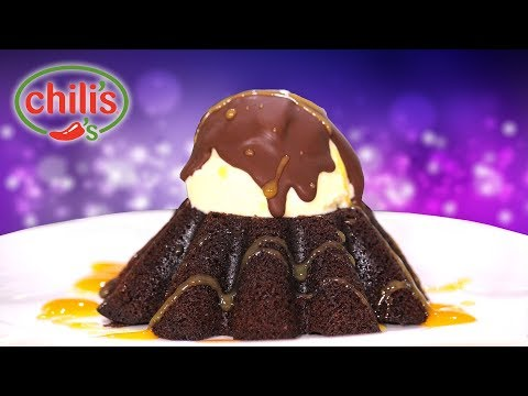 CHILIS 🌶 Chocolate Molten Cake - Homemade Hack!