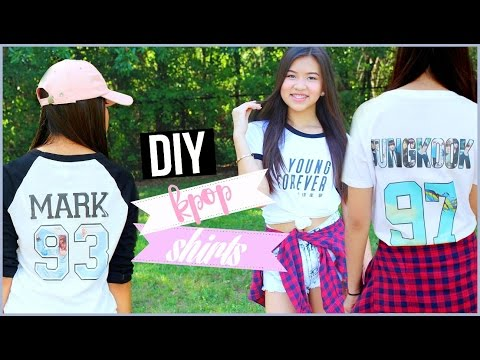 DIY KPOP Shirts Easy & Affordable | OnlyKelly